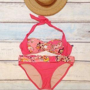 🌟5 for $25🌟 Pink Ombré Paisley Bikini Set